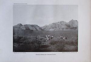 Liefmann-Powelss-Plateau-im-Colorado-Canon-Originaldruck-aus-1910-Foto-print