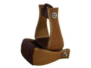 "Formay 1721563bg Lite Chêne Bois Bell étriers 3"" Cou, 3"" Sculptures, Western Tack-,western Tackafficher Le Titre D'origine"