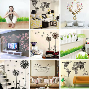 Removable-Art-Vinyl-Wall-Stickers-Home-Decor-Mural-Decal-For-Kids-Room-Bathroom