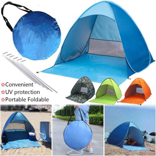 Fishing Hiking Sun Shade Shelter Beach Tent Ultralight Canopy Automatic Pop Up