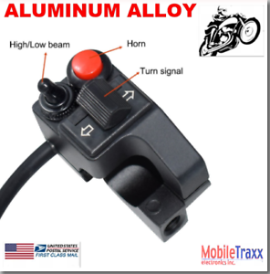 7-8-034-22mm-Aluminum-Motorcycle-Horn-Hi-Lo-Beam-Turn-Switch-Honda-BMW-Yamaha-GS