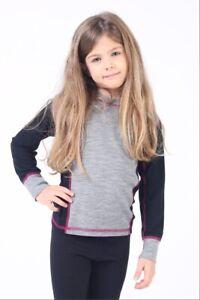 Kinder Merino Unterwäsche Set Mädchen 100/% Natur Merinowolle Funktionswäsche