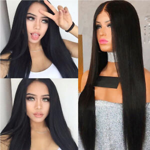 Details about Silk Top Lace Front Wigs Full