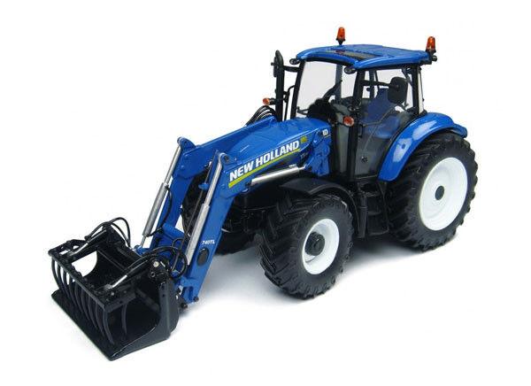 UH4274 - Tracteur NEW HOLLAND T5.115 équipé du chargeur 740TL - 1 32