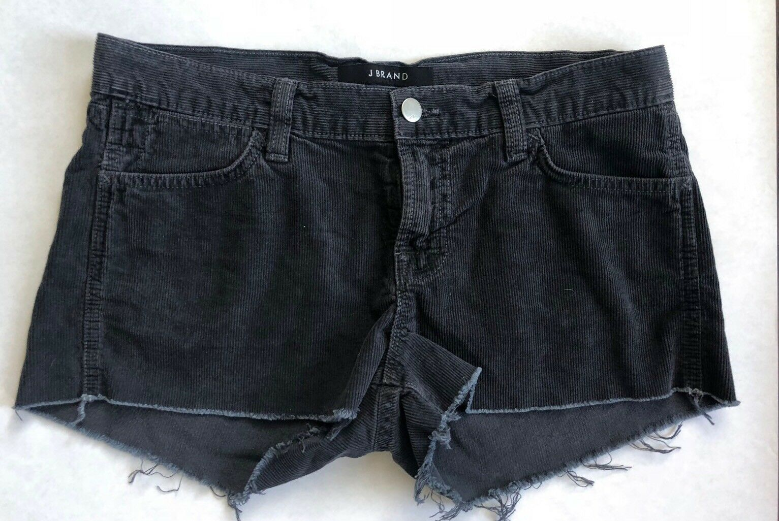 J Brand Cut Off Cord Shorts in Vintage Basin - Size 26