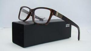 2c0b84a0ab MONT BLANC MB 443 056 Dark Havana Tortoise Glasses Eyeglasses Frames ...