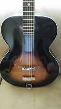 Lefty Vintage Kay Archtop Acoustic Guitar left handed / fresh set up Rare V-neck