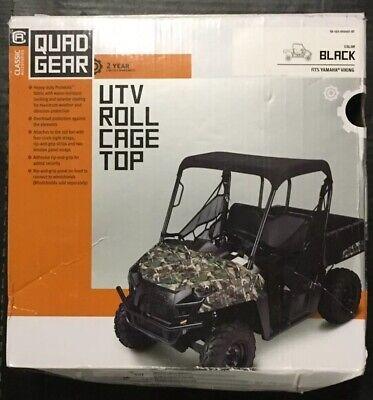 Black Classic Accessories QuadGear UTV Roll Cage Organizer For Polaris RZR