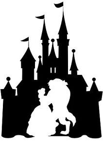 Image Is Loading Custom Vinyl Decal Run Castle Beauty Beast Dance