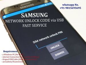 Details about SAMSUNG GALAXY j7 (J737VPP) Verizon remote unlock instant  service