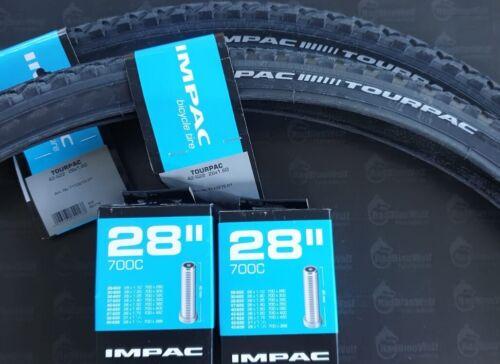 2 x Reifen Impac  28x 1.60   42-622 TourPac BS119 mit 2 Schläuchen AV