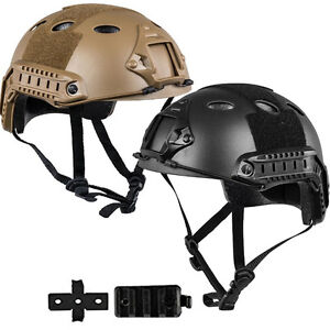 Tactical-Airsoft-Paintball-Protective-Combat-FAST-Helmet-Riding-Gaming-Climbing