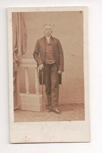 Vintage-CDV-Distinguished-Victorian-Gentleman-Photo-by-A-W-Bennett-London