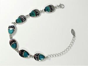 Mood-BEAR-PAW-Print-Bracelet-Cute-Colorful-Great-Gift