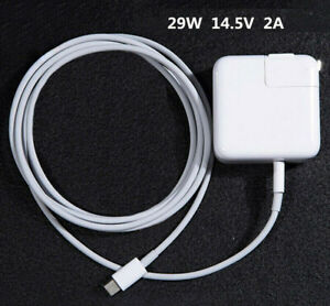 """Original 29W USB-C Power Charger Adapter A1540 for Apple MacBook 12/"""" A1534 USA"""