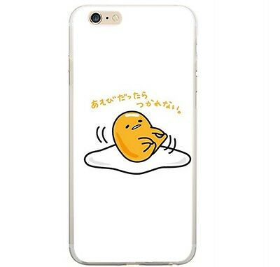 Gudetama leg jump Silicon phone case holder for Iphone 5s /5c/6/4s CP91