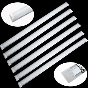 10x high lumen 4ft led wide tube light ceiling strip lights image is loading 10x high lumen 4ft led wide tube light aloadofball Gallery
