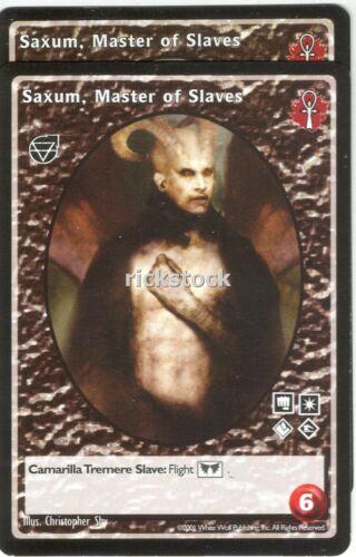 Saxum Master of Slaves x2 Gargoyle BL VTES Jyhad