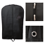 Black Suit Garment Travel Cover Bag Foldable With Carry Handles High Quality