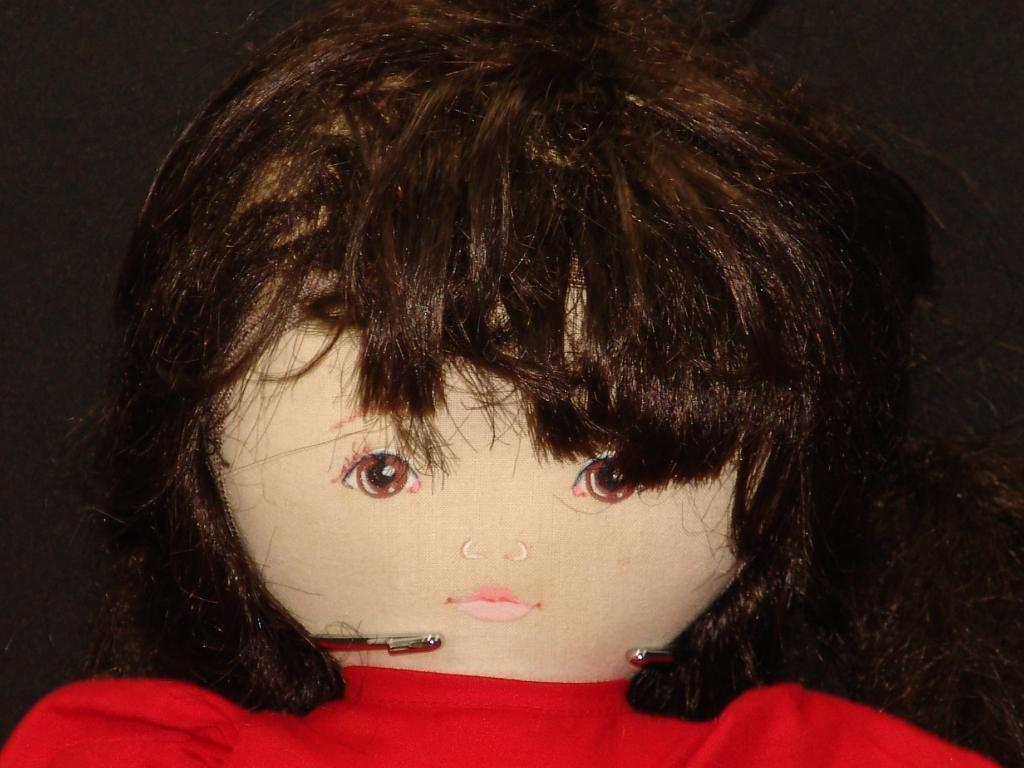 VINTAGE 1986 LIMITED EDITION DOLL BY PAULINE ROT DRESS HOLLY braun HAIR PLUSH