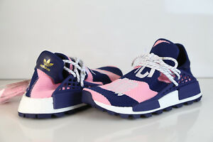 premium selection 7a19d a355d Details about Adidas Pharrell Williams PW X BBC Exclusive HU NMD Core Pink  Blue G26277 8-11