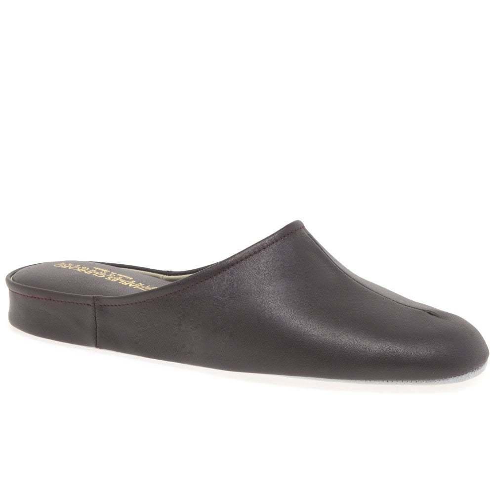 Relax Slippers Gavin Mens Leather Slippers
