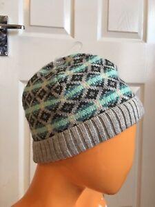 0c54b3d4f Details about Gap Multicoloured Wool Blend Women's Beanie Winter Hat  RRP£12.50 NWT