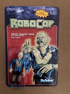 Glow In The Dark Toxic Waste Thug RoboCop Series Super7 ReAction Figure