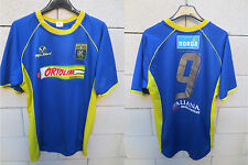 Maillot porté RUGBY PARMA F.C maglia indossata match worn shirt n°9 Tepa Sport