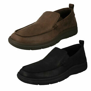 Details about MENS CLARKS CLOUDSTEPPERS MOCCASIN STYLE CASUAL SLIP ON SHOES TUNSIL WAY SIZE