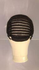 UK: Adjustable Straps, Combs, Stretchy Braided Wig Cap Cornrow HorseShoe Crochet