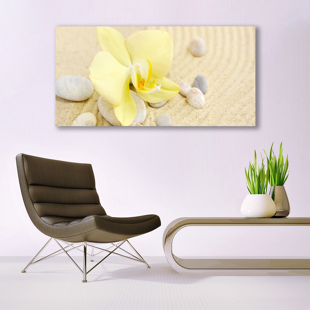 Canvas Canvas Canvas print Wall art on 140x70 Image Picture Flowers Floral 5a8bdf