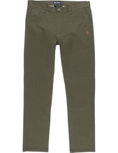 Element Howland Classique Pantalon Chino en Forêt Nuit