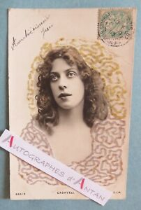 CPA-CASKVELL-actrice-americaine-american-actress-USA-cachet-postal-1905