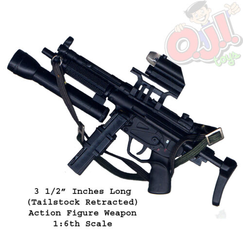 3135g41 Dragon Models HK MP5A3 Surefire /& Magazines for Action Figures 1:6