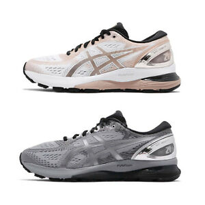 Asics-Gel-Nimbus-21-Platinum-Mens-Womens-Running-Shoes-Sneakers-Pick-1