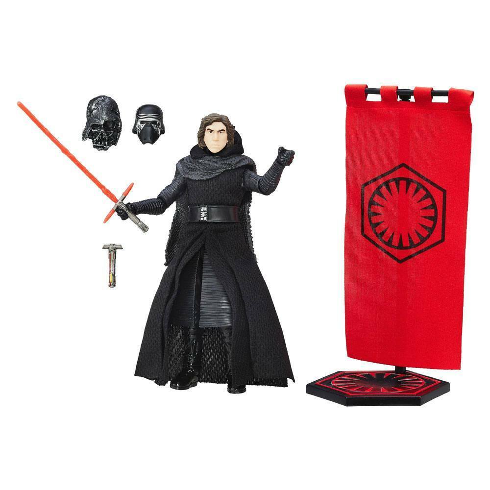 Star Wars Episodio VII Serie Negra Figura de Acción Kylo Ren 2016 Exclusivo