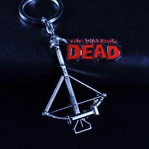 Exquisite-The-Walking-Dead-Daryl-Crossbow-Gun-Keychain-Fashion-Keychain