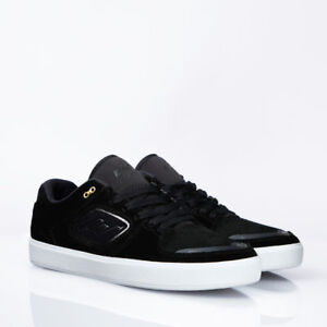 Emerica-Shoes-Reynolds-G6-Black-White-USA-SIZE-Skateboard-Sneakers