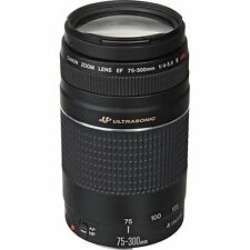 Canon EF 75-300mm f/4-5.6 III Telephoto Zoom Lens for Canon SL1,T6, T6i, T5, T5i