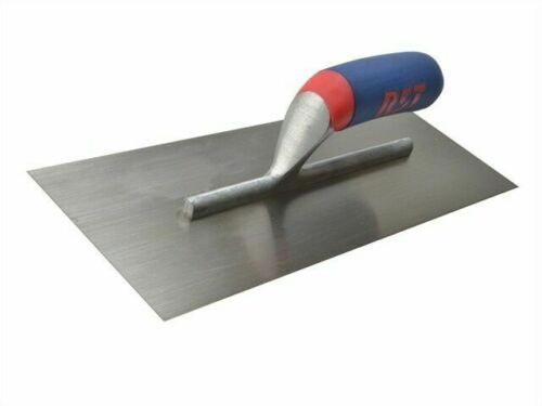 RST plafonneur/'s Finishing Truelle en acier au carbone Soft Touch Poignée