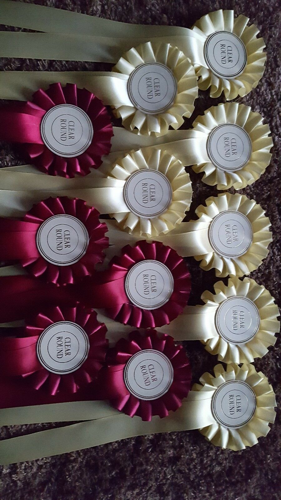 Equestrian pinkttes dog show poultry x 50