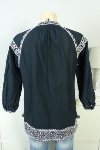 Bluse Gr 34 Schwarz bd26 Beach Strandkleid Madewell Weiß Xs Tunika axw5qCYC1