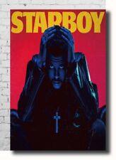 T-687 Art Poster KT001 The Weeknd Starboy Hip Hop Rap Hot Silk 24x36 27x40IN