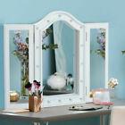 HomCom 831-219 Espejo de Maquillaje con Luz LED 73x53,5x4,5cm - Blanco