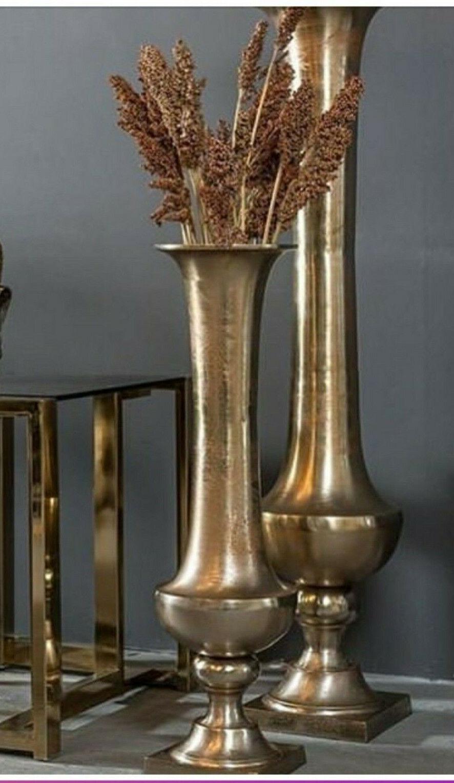 Vase,Pokal, Dekopokal,Gold, Deko-Vase,Bodenvase, modern, Loft, elegant,Nostalgie