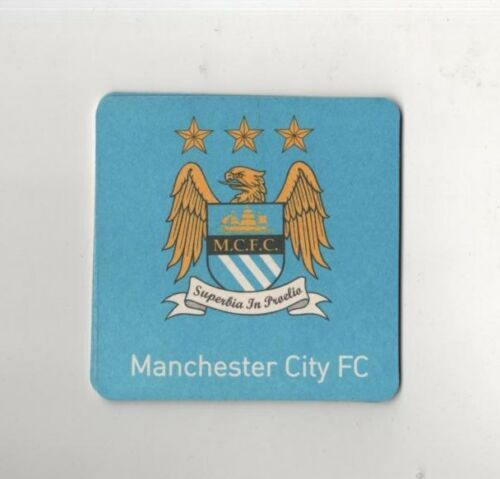MANCHESTER CITY F.C Coasters FREE POSTAGE UK Pack of  Official Beer Mats