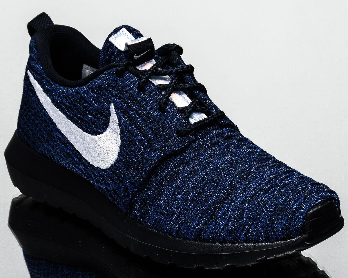 Nike WMNS Roshe Turnschuhe NM Flyknit Damens lifestyle Turnschuhe Roshe NEW dark obsidian 843386-404 74c304