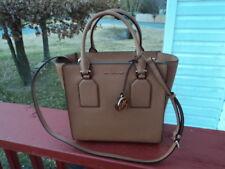 56ba61645cbf Authentic Miichael Kors Medium Satchel Crossbody Acorn Brown Shoulder Bag  Selby