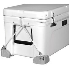 Boat Marine Trophy Tracker RV COOLER MOUNTS - CHOCKS - HOLD DOWNS - WITH BUNGEE